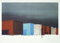 EMANUEL BERNSTONE, Litografi