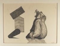 TOMAS NANNE SANDBERG, Teckning i ram