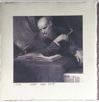 MEL, grafiskt blad, Archival pigment print